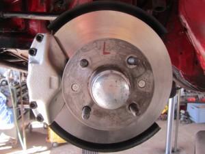 Neue Bremsscheibe